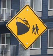 Cruiseship Location Sign