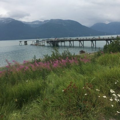 Cruise Ship Dock, Haines, AK