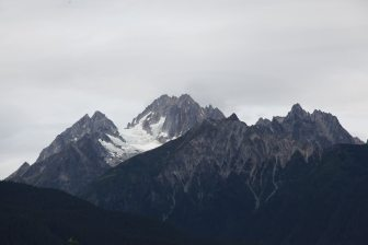 Haines glacier