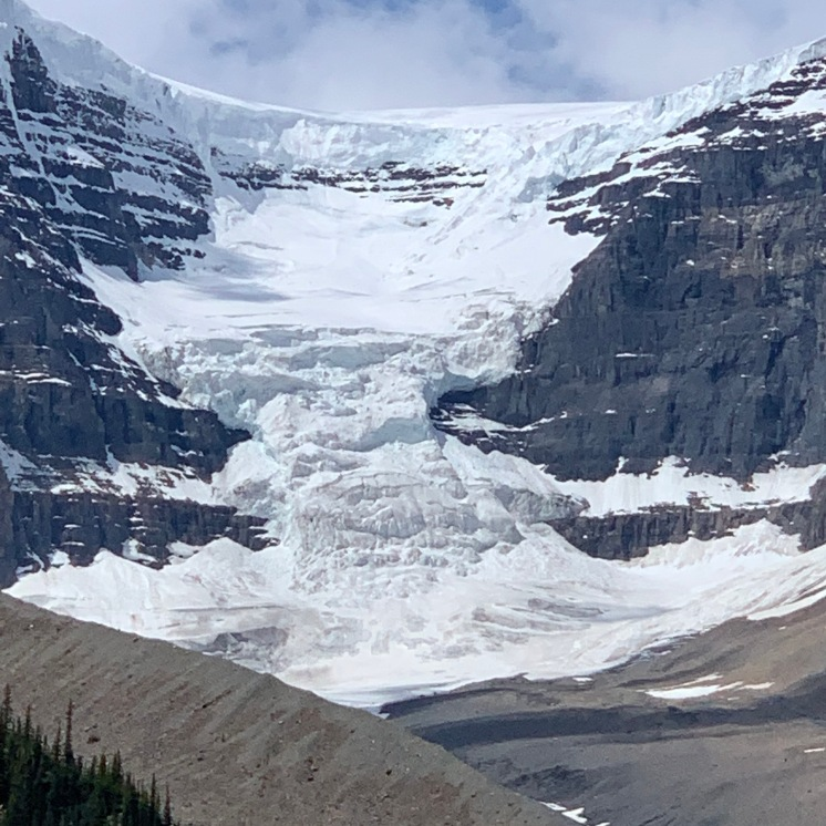 Glacier at Columbia Ice Fields