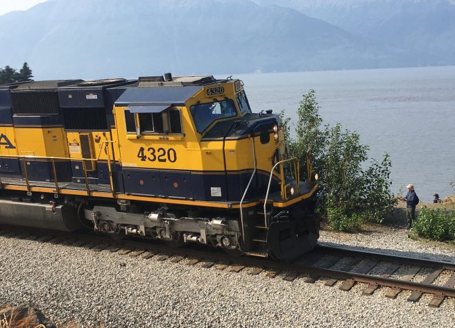 Sightseeing passenger train