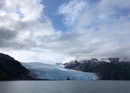 Approach glacier