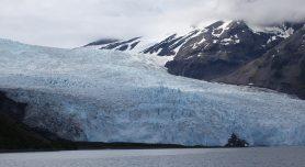 Glacier and Mountain