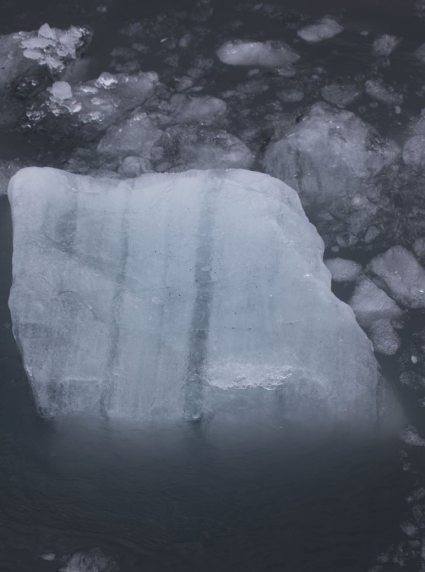 Ice with Striations