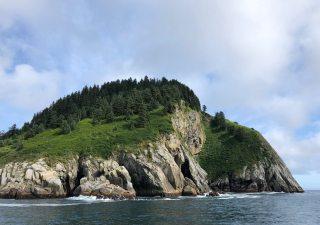island at sea