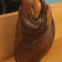 Pratt sculpture wood